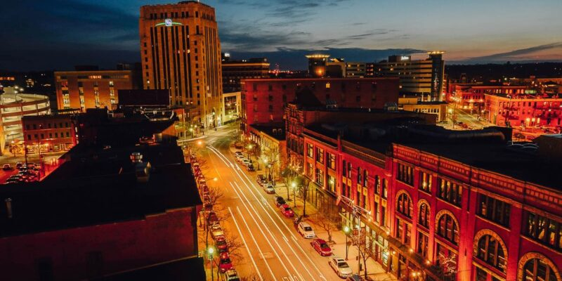 picture of downtown Kalamazoo